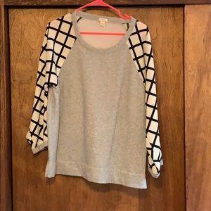 J.Crew dressy sweatshirt